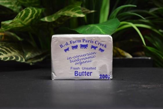 *ORG Paris Creek Unsalted Butter 200g