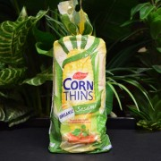 ORG Corn Thins with Sesame 150g
