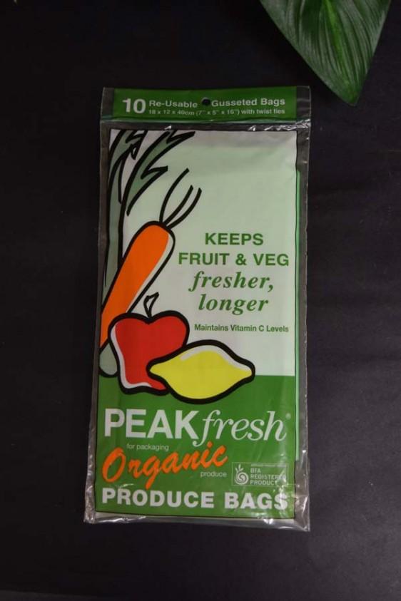 Peakfresh Produce Bags (10 pack)