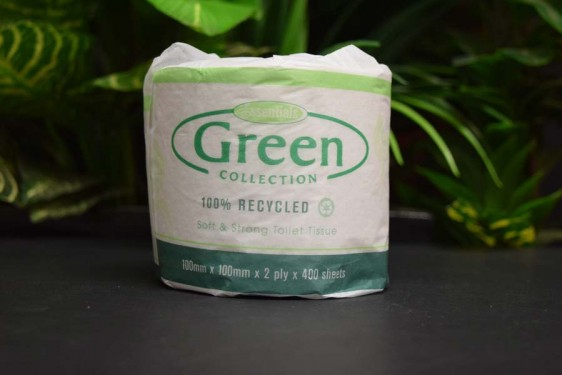 *100% Recycled Toilet Tissue (unscented)