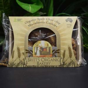 ORG Spelt Choc-Chip Macadamia Cookies 200g
