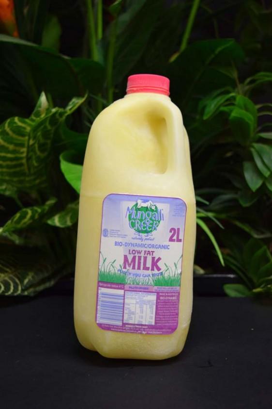 ORG FROZEN 2lt Mungalli Low Fat Milk