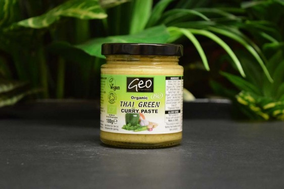 oos organic thai green curry paste 180g organic and quality foods. Black Bedroom Furniture Sets. Home Design Ideas