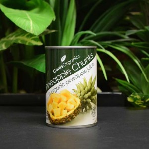 OOS Organic Pineapple Chunks 400g (can)