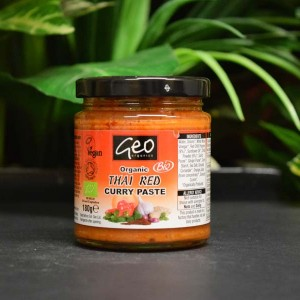OOS Organic Thai Red Curry Paste 180g