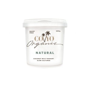 COYO Organic Coconut Yoghurt 300ml_Natural