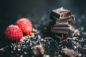 Canva - Chocolates and Raspberries